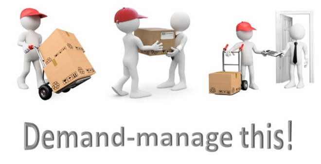 demand management couriers